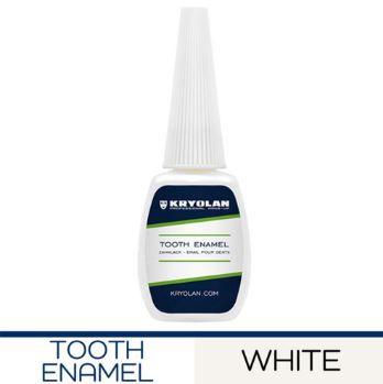 Kryolan Tooth Enamel Esmalte de dente branco