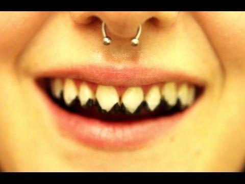 Kryolan Tooth Enamel Esmalte de dente preto