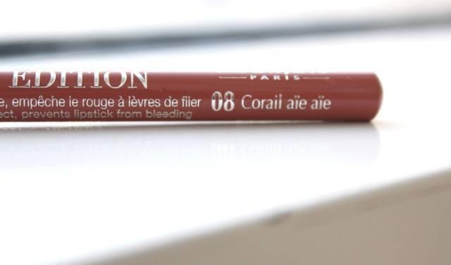 Lápis para Lábios 08 coral Bourjois Paris