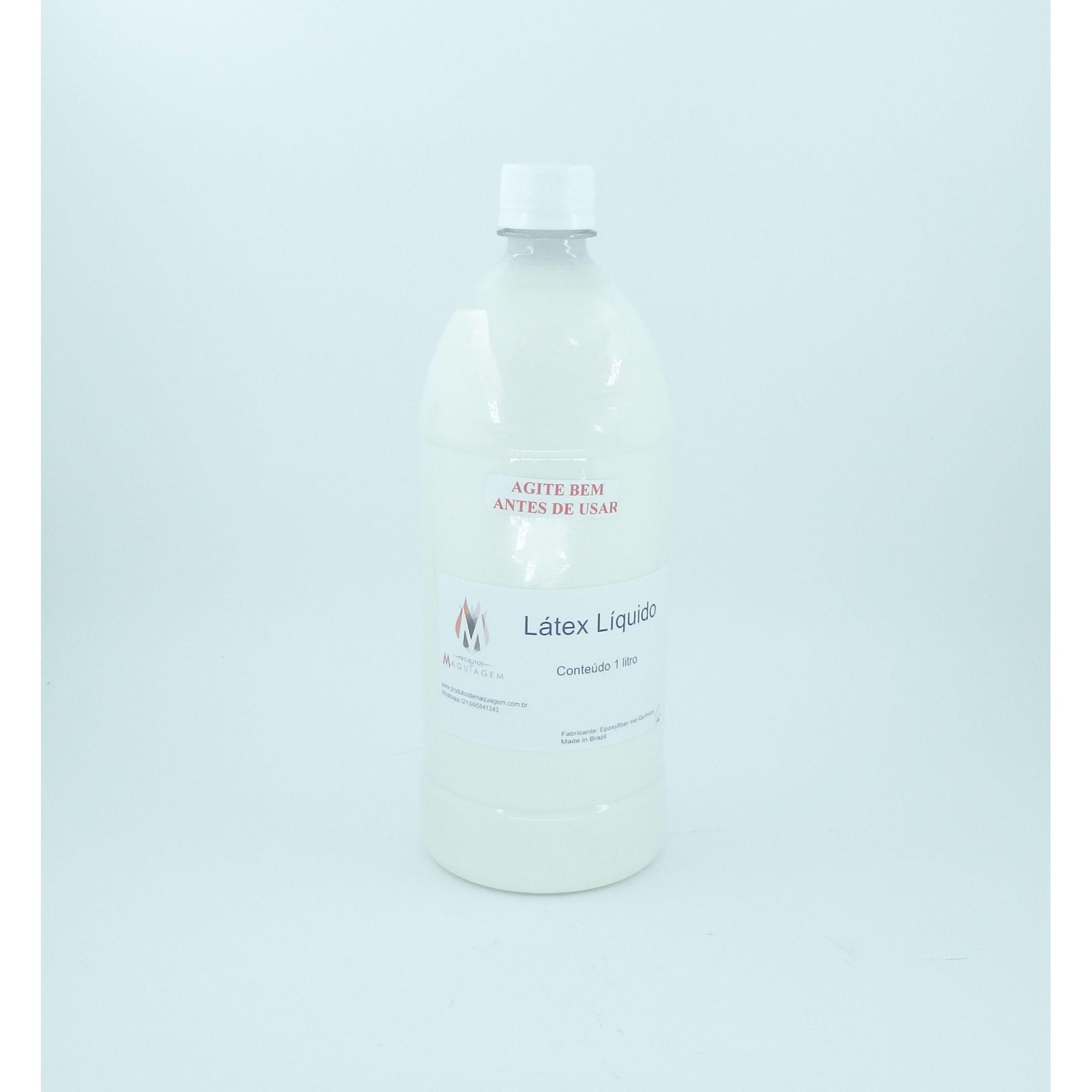 Látex Liquido para mascaras e próteses 1 litro