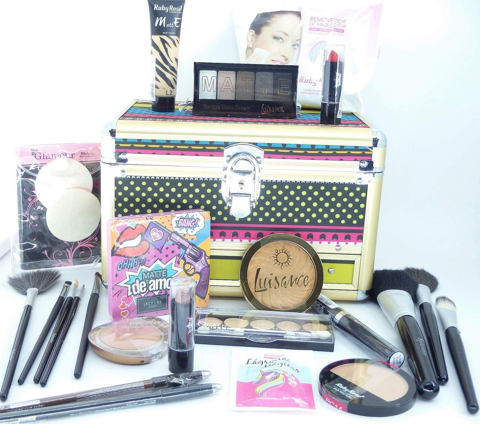 Maleta Maquiagem Kit Completo