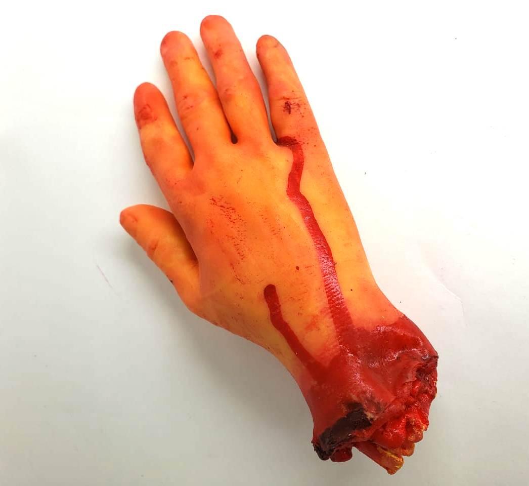 Mão Falsa zumbi assustador Slug unidade
