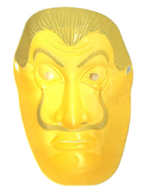 Mascara Dali casa de papel
