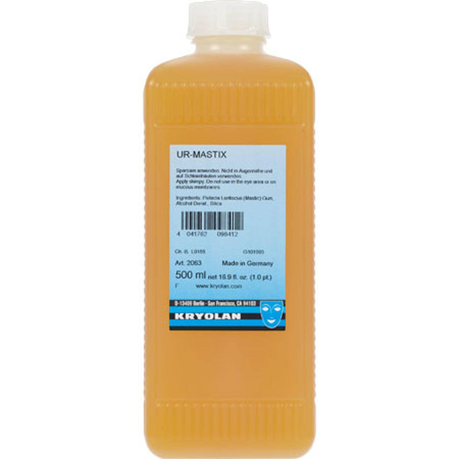 Cola Spirit Gum ( Verniz) Kryolan 500ml p/ perucas e lances