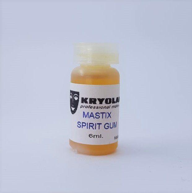 Cola Spirit Gum (verniz) Kryolan 6ml p/ postiços e lances