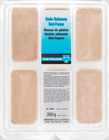 Mousse de Gelatina espuma ( gel-foam) Kryolan 300 gr