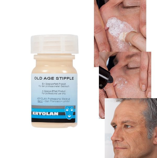 Old Age Stipple Kryolan 50 ml ( criar rugas artificiais maquiagem)