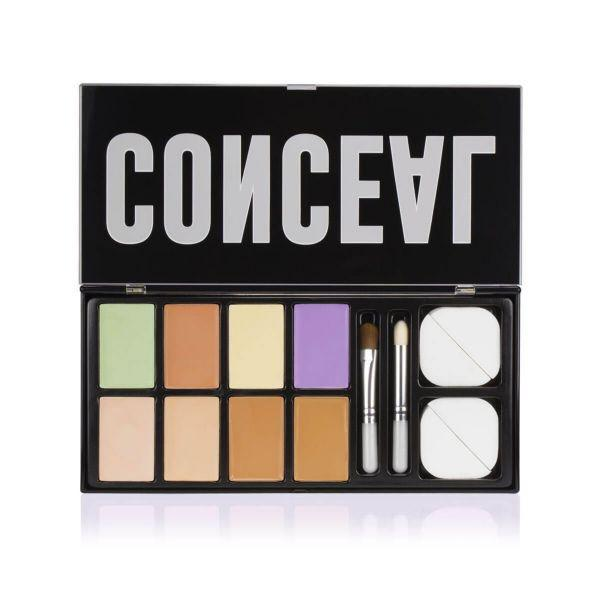 Paleta Corretiva Profusion 6 cores +pincel e esponja