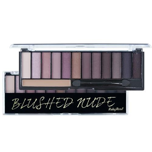 Paleta de sombra Blushed Nude Ruby Rose