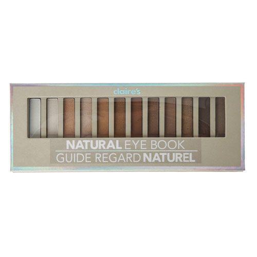Paleta de sombra Natural 12 cores Claire´s