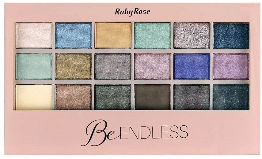 Paleta de sombras Be Endless Ruby Rose