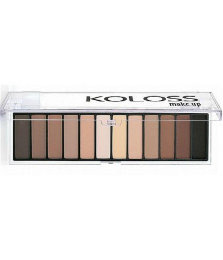 Paleta de sombras Nº6 opaque mate Koloss