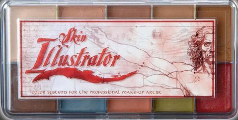 Palete skin illustrator fleshtone light