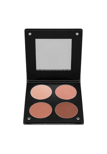 Palette 4 Blush 3D Beige Orange Atelier Paris