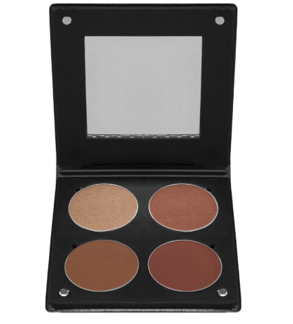 Palette 4 Blush 3D Dark Skin 1 Atelier Paris