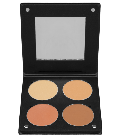 Palette 4 Blush 3D  Mixed Skin Atelier Paris