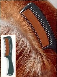 Pente para colorir cabelo Castanho Claro