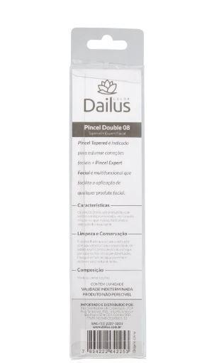 Pincel maquiagem Double Dailus DB 08