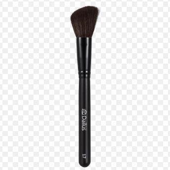 Pincel maquiagem para Blush Chanfrado Dailus Ds 17