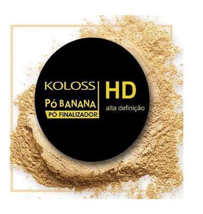 Pó HD Banana finalizador Koloss 12,0 gr
