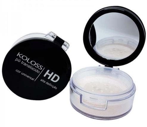 Pó HD Translúcido maquiagem cor Universal Koloss 12,0 gr