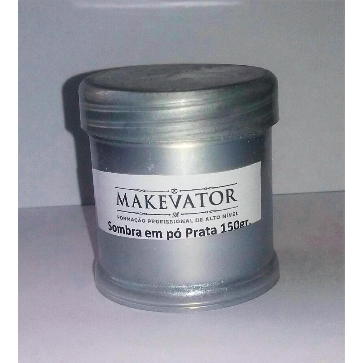 Pó  sombra em pó prata- Ultra pigmentado
