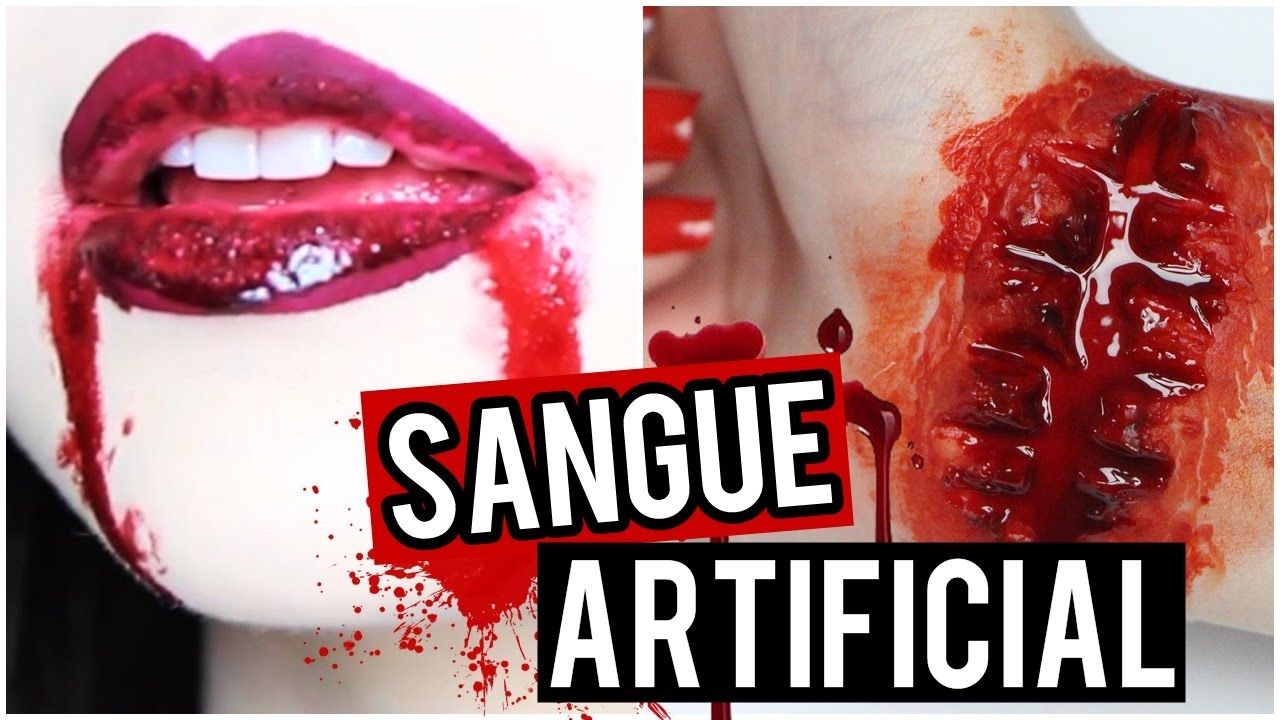 Sangue Artificial Comestível Teatral 120ml Halloween Slug