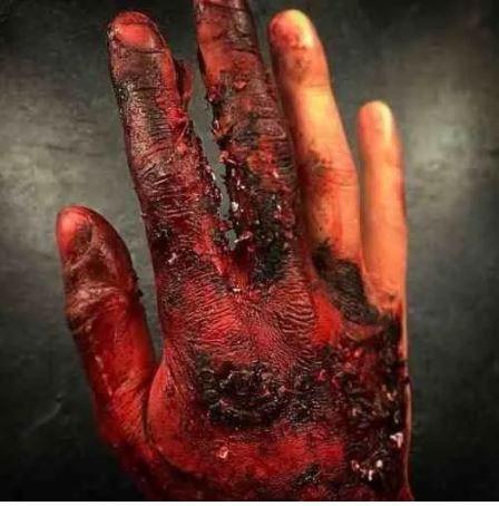 Sangue falso maquiagem artística comestível Preto Slug 15ml