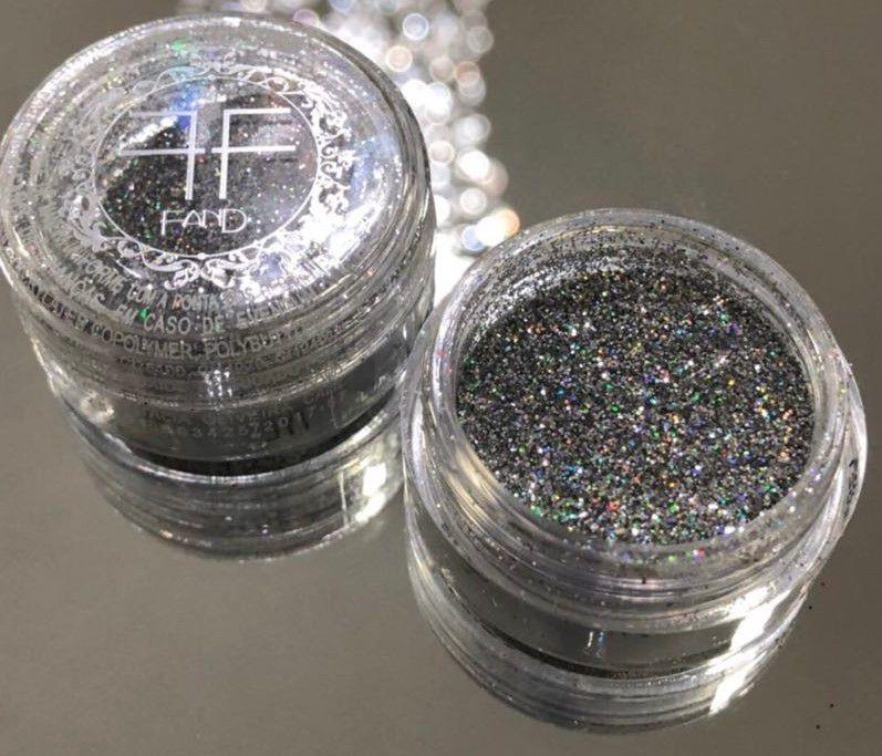Sombra Glitter Tyl Fand Make up