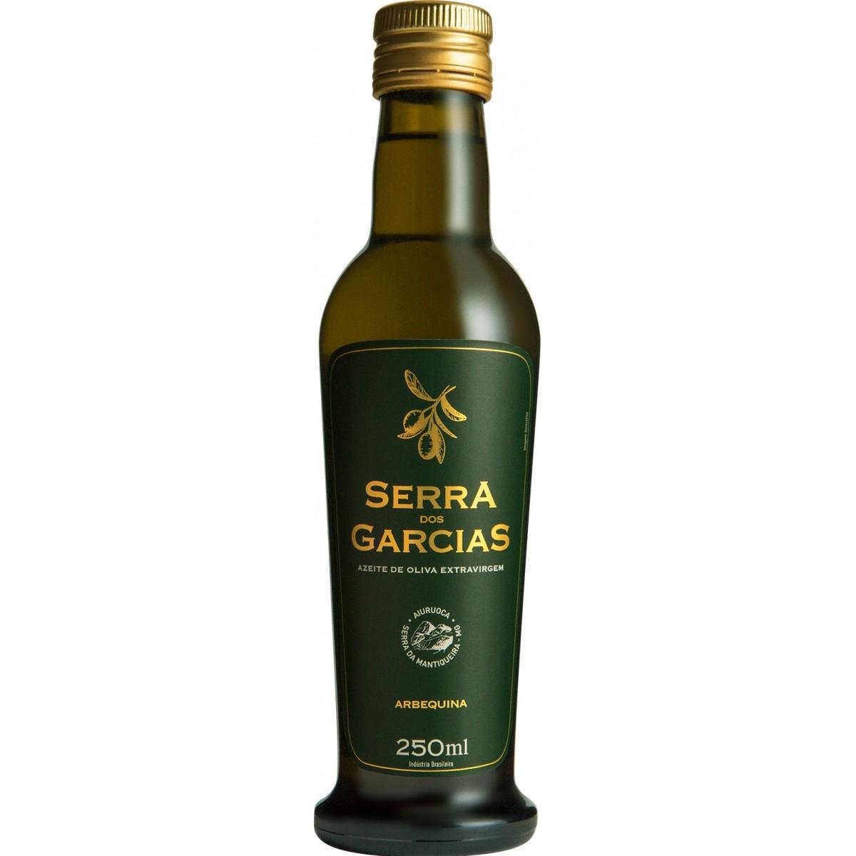 SAFRA 2020 - ARBEQUINA 250ml <br><br> Azeite de frutado maduro, aromas suaves, toques de banana e maçã, com fundos de grama recém cortada.  - Azeite Serra dos Garcias