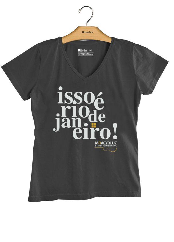 T.shirt Gola V  Isso é Rio