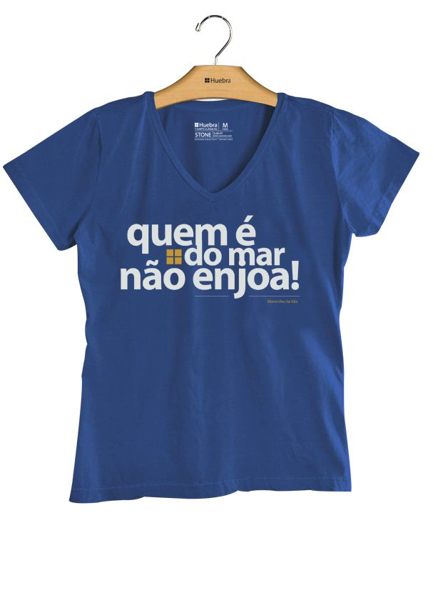 T.shirt Gola V Quem é do mar