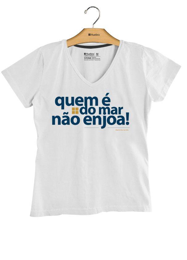 T.shirt Gola V Quem é do mar