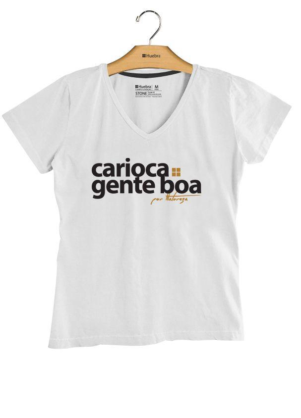 T.Shirt V Carioca Gente Boa