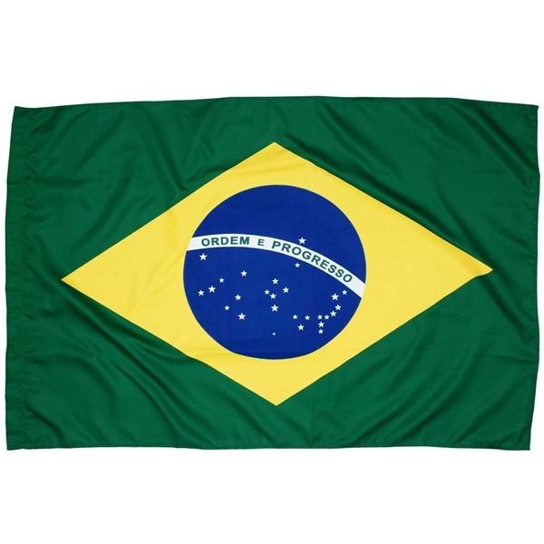 Bandeira Brasil Tradicional 2 Panos