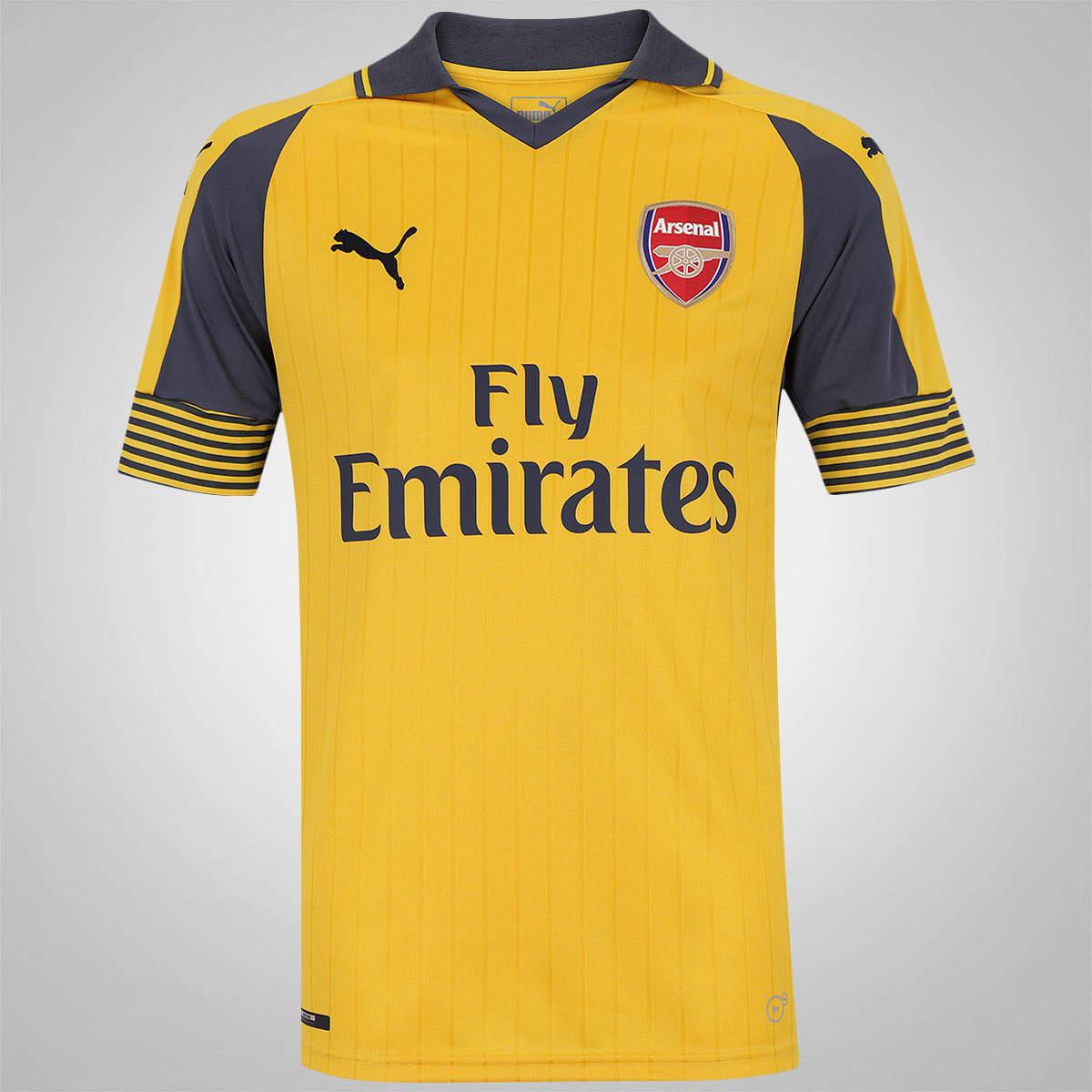 Camisa Arsenal Away Puma 2016/17
