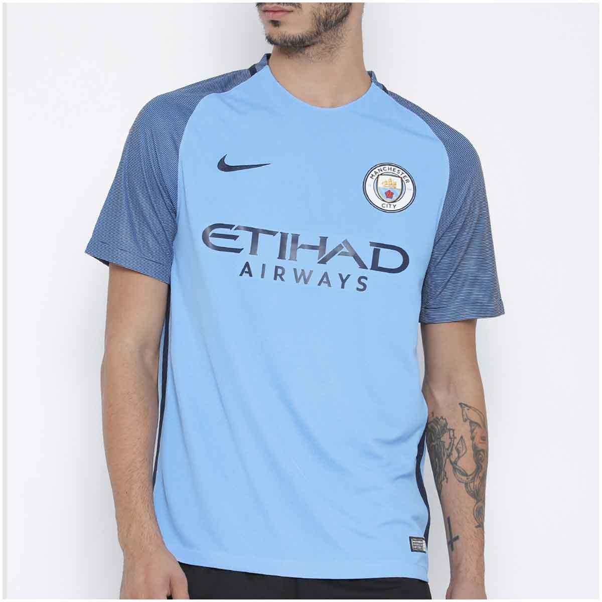 Camisa Nike Manchester City I 2016/17