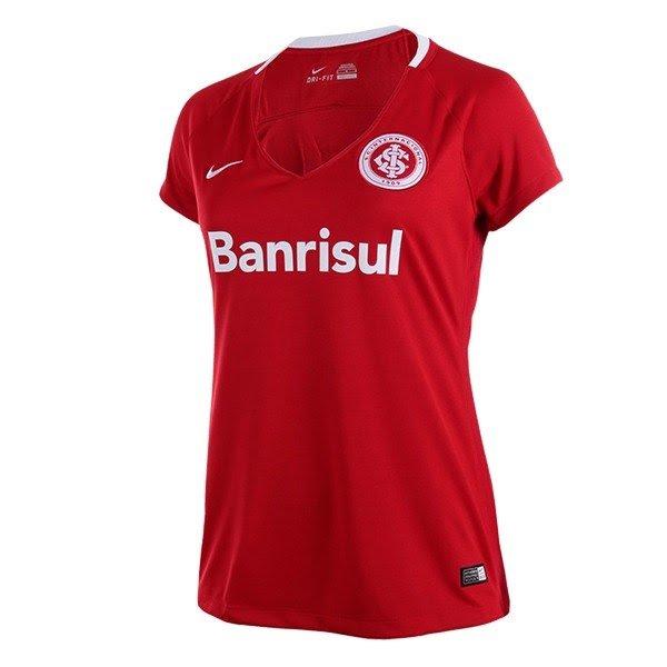 Camisa Internacional I Nike 2016 Feminina