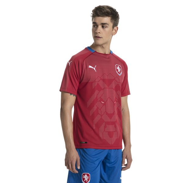 Camisa República Tcheca Home Puma 2018