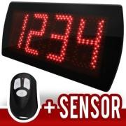 Painel LEDTime 60 - Contador de Pessoas - 58x25 cm