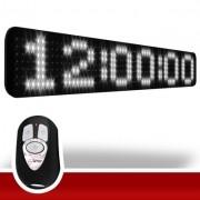 Painel LEDTime XL 764 - Relógio/Cronômetro Digital - 90x15 cm