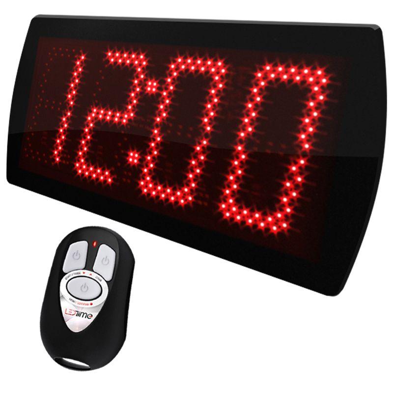 Painel LEDTime 60 2.0 com Controle WI - Relógio/Cronômetro Digital - 58x25 cm