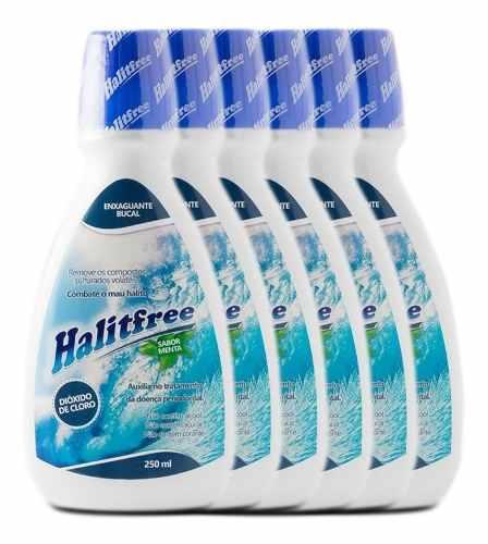 Halitfree Dióxido De Cloro Para O Mau Hálito - 6 Unidades