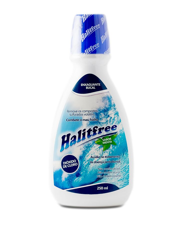 Halitfree 250ml - Enxaguante bucal sabor menta