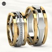 Alianças de casamento - ATENA