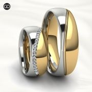 Aliança de casamento - RÉGIA