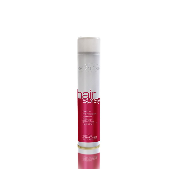 Hair Spray Profissional Extra Forte 600 Ml - Seco e Sem Resíduos - Para Penteados Incríveis
