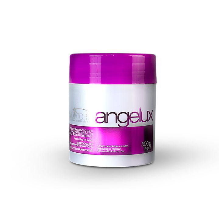 Kit Angelux Profissional - Shampoo 1Litro + Cond 500 ML