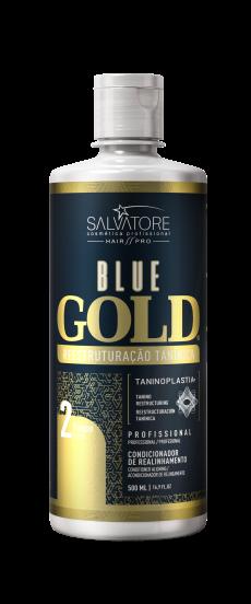 Kit Blue Gold 500ML - 10 anos de Taninoplastia + Brinde