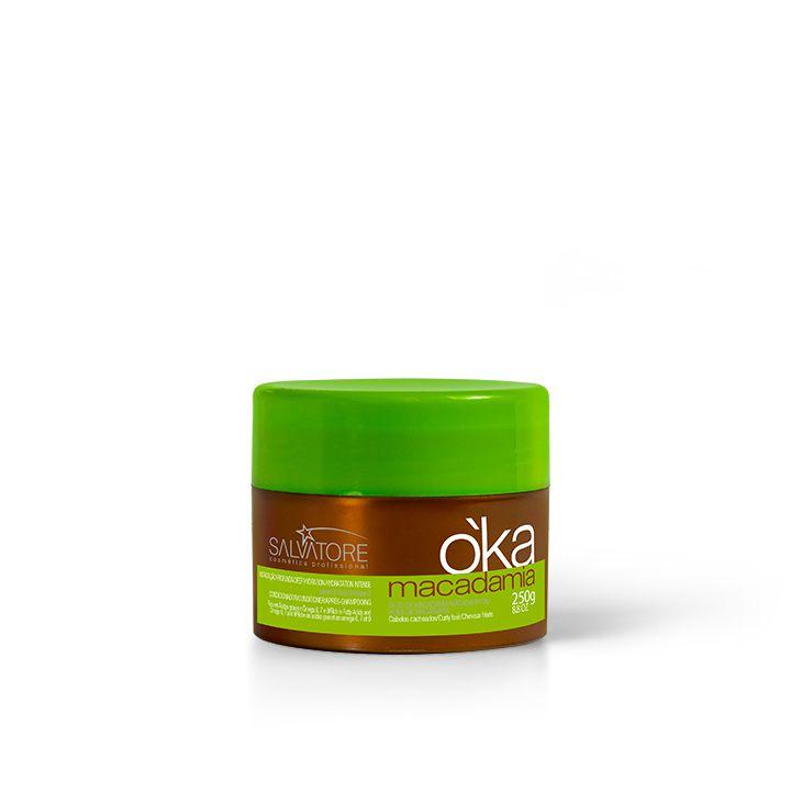 Kit OKA macadamia Cliente (Sh 300 Ml e Masc 250 Ml + Ôleo 15ml)